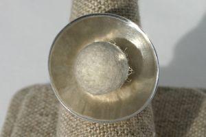 Felt Pearl Ring